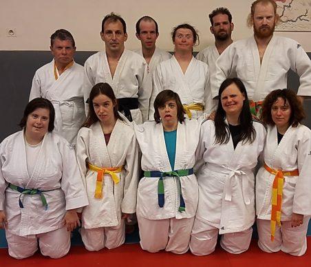 Les judokas de la Chrysalide
